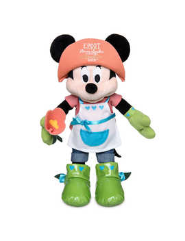 Minnie Mouse Plush   Epcot International Flower & Garden Festival 2018   Small by Disney