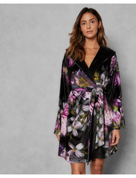 Sunlit Floral Dressing Gown by Ted Baker