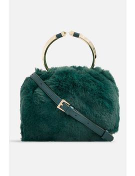 **Faux Fur Handbag By Koko Couture by Topshop