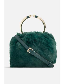 **Faux Fur Handbag By Koko Couture by Topshop