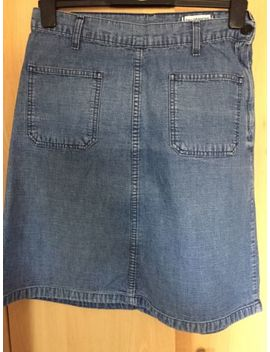 Levi's Skirt Size 12 A Line Denim. Side Zip. Excellent Condition&Nbsp; by Ebay Seller