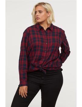 H&M+ Plaid Shirt by H&M
