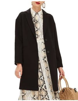 Crepe Coat by Topshop