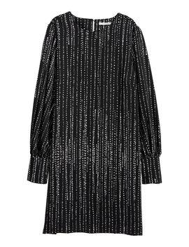 Vestido Com Mangas Tufadas by H&M