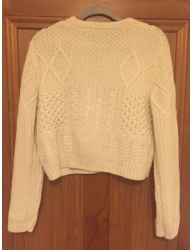 Topshop Cable Knit Jumper Uk 16 by Ebay Seller