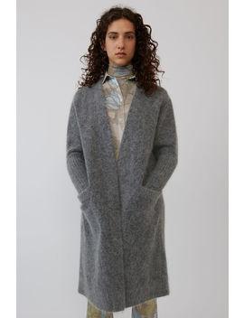 Kimono Sleeve Cardigan Grey Melange by Acne Studios
