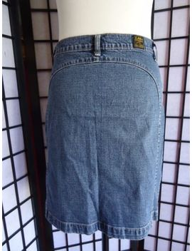 Lee Denim Skirt Size 12 Uk ( 29) 100 Percents Cotton   Lee Females by Ebay Seller