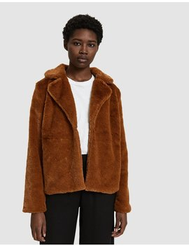 Tina Faux Fur Jacket by Stelen