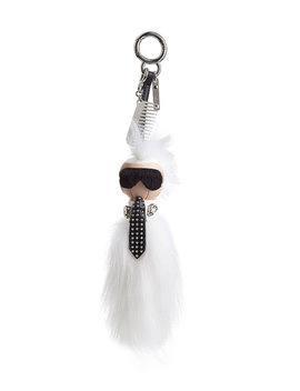Keychain With Fox Fur by Fendi