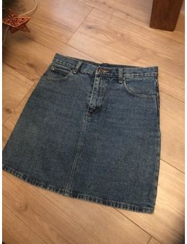 Vintage Denim Skirt Size 12 Lovely by Ebay Seller