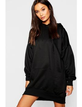 Oversized Pocket Sweatshirt Dress by Boohoo