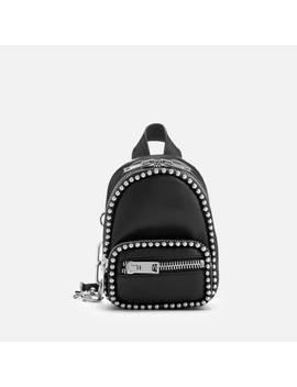 Alexander Wang Women's Attica Soft Mini Cross Body Backpack With Ballchain   Black by Alexander Wang
