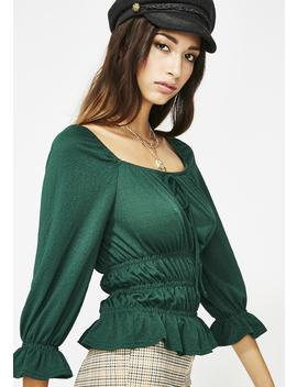 Kush Breezy Babe Ruched Top by Edgemine