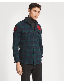 Classic Fit Tartan Workshirt by Ralph Lauren