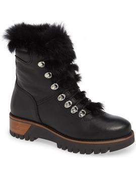 Tsar Genuine Rabbit Fur Boot by Rudsak
