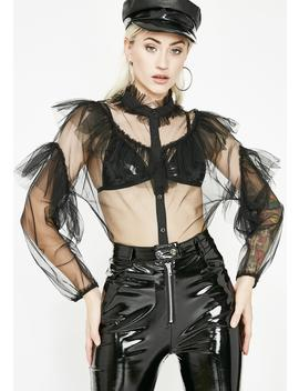 Radical Chic Organza Blouse by Hot  Delicious