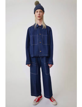 Short Jacket Indigo Blue by Acne Studios