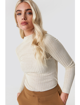 Shimmery Knitted Blouse by Trendyol