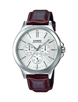 Casio Analog White Dial Men's Watch   Mtp V300 L 7 Audf (A1177) by Casio