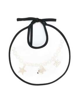 Charm And Chain Bib by Elisabetta Franchi La Mia Bambina