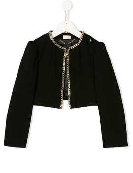 Chain Jacket by Elisabetta Franchi La Mia Bambina
