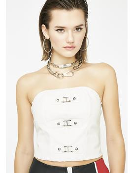 In Your Veins Corset Top by Carmin