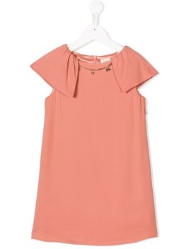 Cap Sleeves Dress by Elisabetta Franchi La Mia Bambina