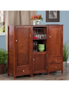 Brooke 3 Pc Jelly Cupboard Set by Winsome Trading