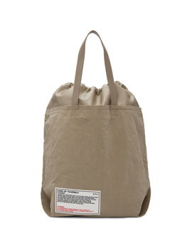 Beige 'care Of Yourself' Tote by A.P.C.