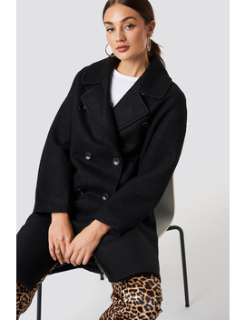 Oversized Double Breasted Coat by Na Kd Trend