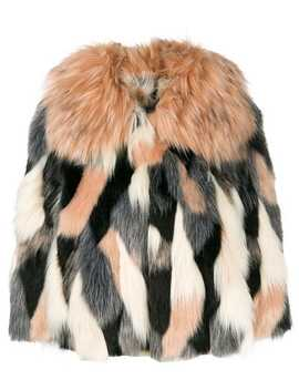 Cropped Faux Fur Jacket by Elisabetta Franchi