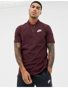 Nike Club Matchup Polo In Red 909746 652 by Nike