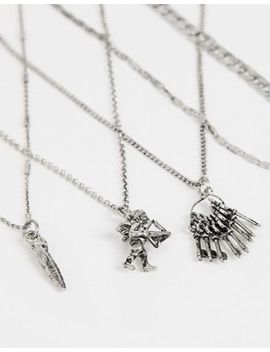 Sacred Hawk Necklace Layering Pack by Sacred Hawk