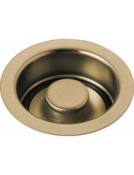 Delta Faucet 72030 Cz Disposal And Flange Stopper, Kitchen, Champagne Bronze by Delta Faucet