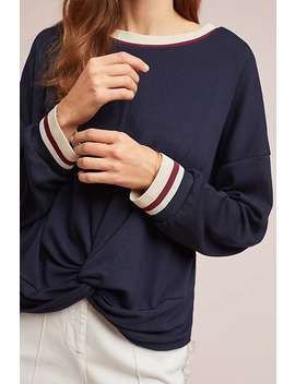 Twisted Sporty Pullover by &.Layered