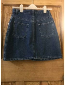 Denim Blue Star Jeanswear Skirt Vintage Style Size 12 by Ebay Seller