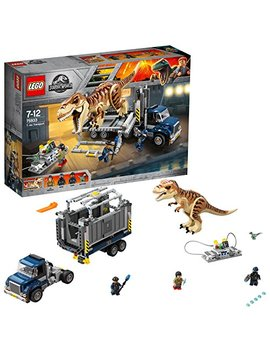 Lego 75933 Jurassic World T. Rex Dinosaur Toy Transport Building Set For Kids by Lego