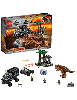 Lego 75929 Jurassic World Carnotaurus Gyrosphere Escape, Toy Dinosour, Truck, Station And Mobile Control Center Plus Owen Minifigure, Fallen Kingdom Movie Sets by Lego