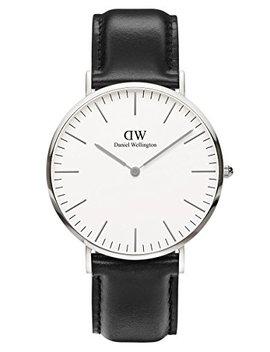Daniel Wellington Classic Sheffield Herrenuhr Schwarz/Silber 0206 Dw by