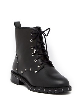 Gerry Studded Lace Up Boot by Rebecca Minkoff
