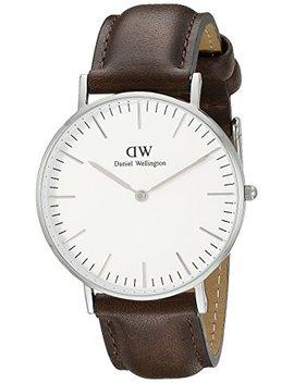 Daniel Wellington Classic Herren Armbanduhr Analog Quarz Leder   Dw00100023 by