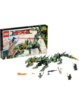 Lego Ninjago Movie Green Ninja Mech Dragon   70612 by Argos