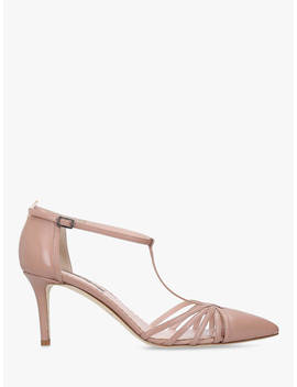 Sjp By Sarah Jessica Parker Carrie 70 Stiletto Heel Court Shoes, Nude Leather by Sjp By Sarah Jessica Parker