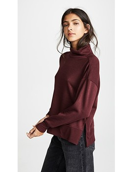 Loft Fleece Mock Neck Sweater by Z Supply