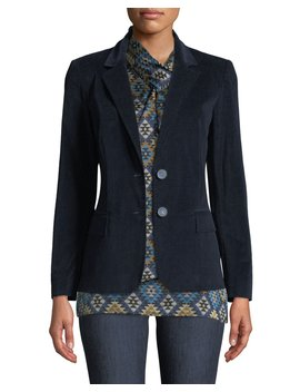 Camden Curated Corduroy Blazer Jacket by Lafayette 148 New York