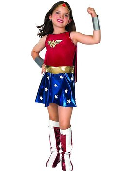 Dc Super Heroes Child's Wonder Woman Costume, Large by Rubie's