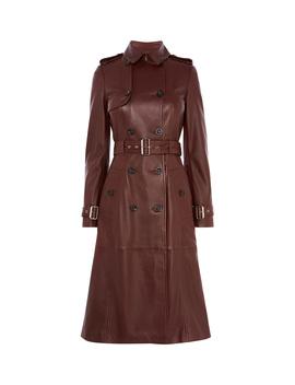 Longline Leather Trench Coat by Cd015 Dd223 Cd055 Kd042 Hd024 Dd219 Dd069 Dd254 Dd027