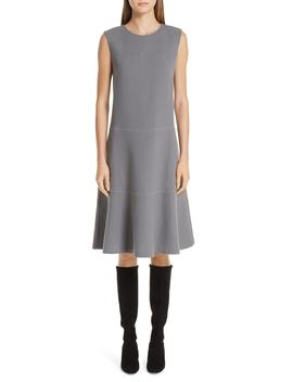 Colby Chain Trim Fit & Flare Dress by Lafayette 148 New York