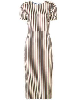 Slim Fit Striped Dress by Dvf Diane Von Furstenberg