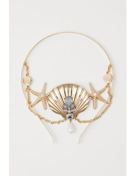 Hairband With Metal Chain by H&M